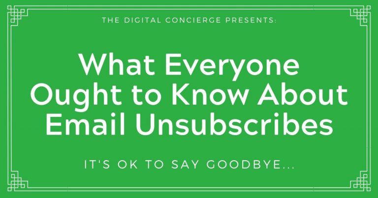 Article Title: What Everyone Ought to Know About Email Unsubscribes